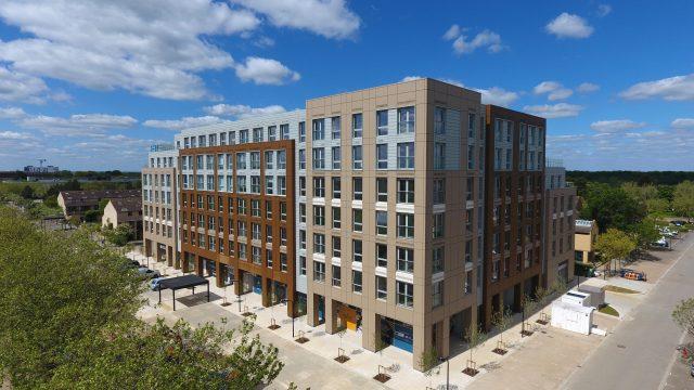 Silbury Boulevard, Milton Keynes, for Grainger New Homes building exterior