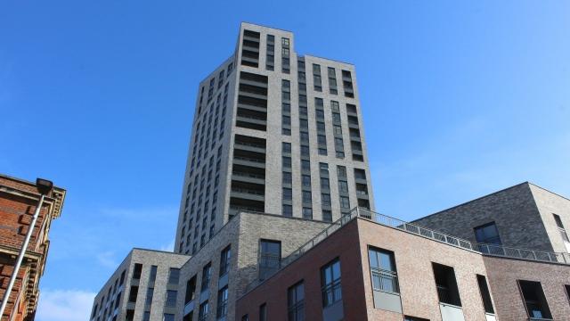 Multi-storey building exterior