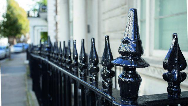 Railings in Westminster