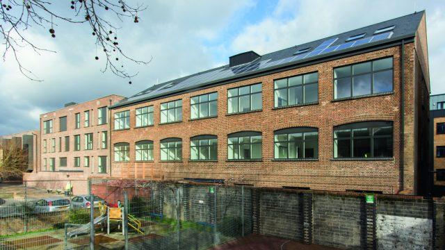 Refurbished Victorian warehouse